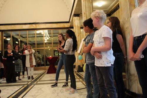 museum debat presentatie burgerzaal leerlingen 1