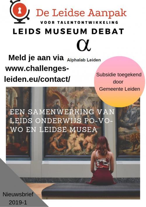 Leids Museum Debat foto 1